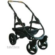 Fahr-Gestell Naturkind Varius Pro, schwarz (ohne Räder)