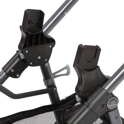 Autositz-Adapter für Naturkind-Kinderwagen Lux, u.a. passend MaxiCosi, Cybex, Kiddy